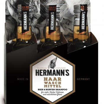 HERMANN´S Biershampoo 6 x 250ml im Sixpack
